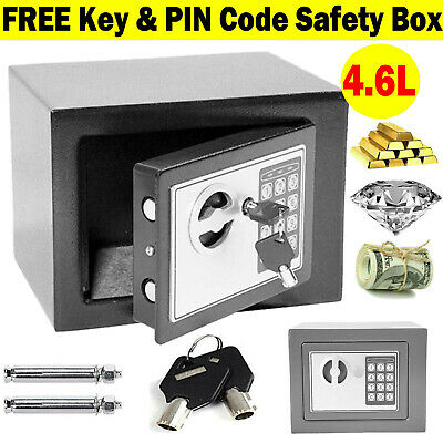 Waterproof Fireproof Security Electronic Digital Safe Box Password Rated Key Box