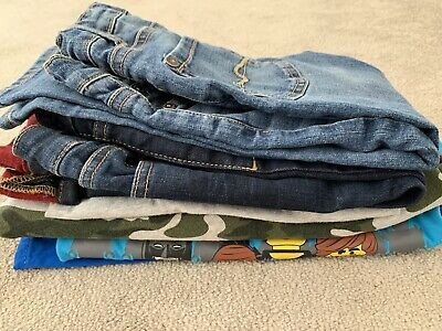 Boys 6 Piece Bundle, Size 4-5 Yrs, Fat Face, H&M, Next, Seven For All Mankind