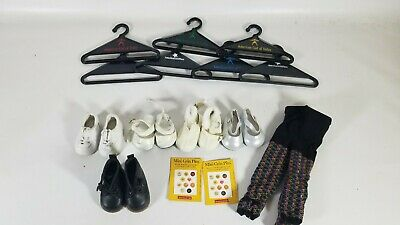 Lot of 5 Pairs of American Girl Doll Shoes - Also leggings, Hangers and Pins