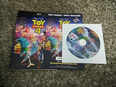 Toy Story 4 (DVD, 2019) INSERTS & DISC ONLY :)