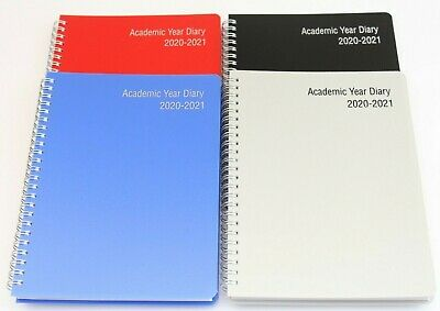 2020-2021 '18 Month' A5 Or A4 Week To View Academic Wiro Diary With Appointments