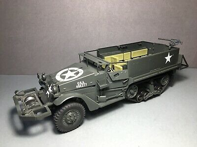 Gonio 1:24 All-Metal M3 Halftrack Half Track Armoured Personnel Carrier Us Army