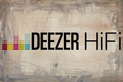 Deezer HIFI ♪ Plan High Quality for 6 Month (personal account) Worldwide
