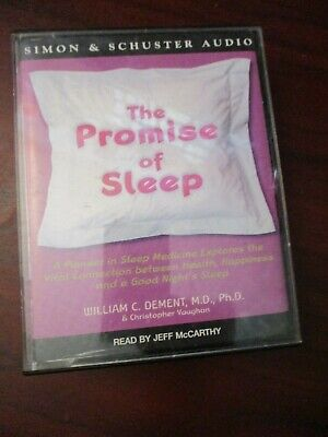 The Promise of Sleep   Audio Book Cassette Tapes
