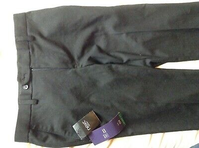 BNWT Next Boys School/Smart skinny-Fit Black Trousers, Teens