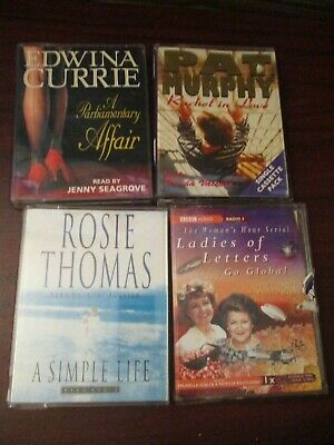 Audio Book  Four Audio Cassette Tapes - Female Fiction Collection
