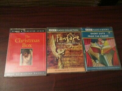 Audio Book  three Audio Cassette Tapes - Short Stories Fiction Collection