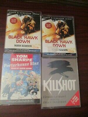 Audio Book  three Audio Cassette Tapes - Male Fiction Collection