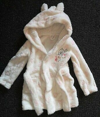 Girls Dressing Gown 2-3 Disney Bambi
