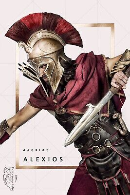 Assassin's Creed Odyssey Cosplay Costume Alexios