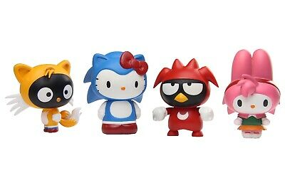 Sonic The Hedgehog X Sanrio Blind Box Figure - Complete Set of 4
