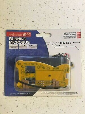 Velleman Running Microbug Electronics Project Kit MK127