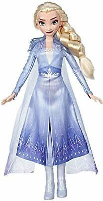 Disney Frozen Elsa Fashion Doll with Long Blonde Hair & Blue Outfit, Ages 3+