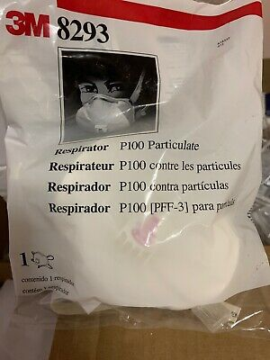 3M 8233 Respirator Mask N100 Particulate New Sealed Bag