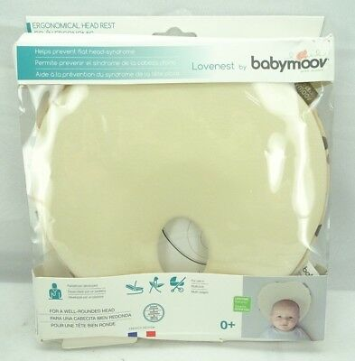 Lovenest Pillow For Baby And Infant Head Support Ivory by Babymoov  T2