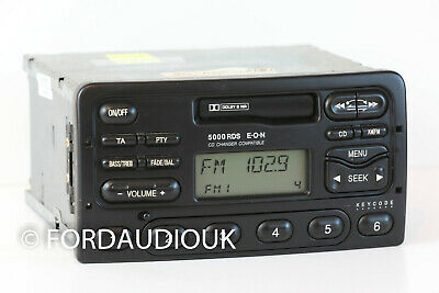 Refurbished Ford 5000 Radio & Cassette Tape Player