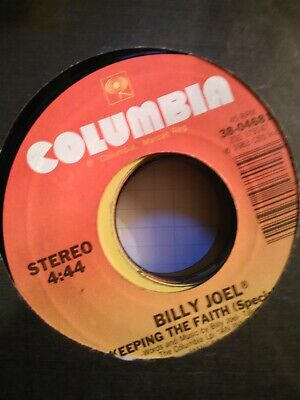 Billy Joel, Keeping The Faith (Special Mix) ~ 1983 Columbia 45 +sleeve