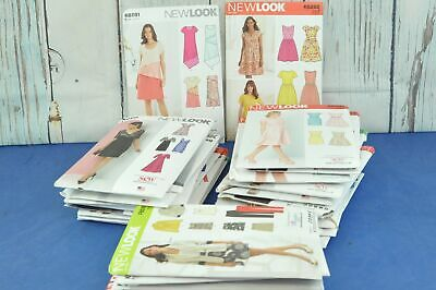 Large Job Lot of 53 Sew Magazine Sewing Patterns - New Look & Simplicity