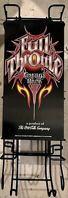2004 FULL THROTTLE Energy Drink Metal Can Coca Cola Monster Sturgis Saloon Sign