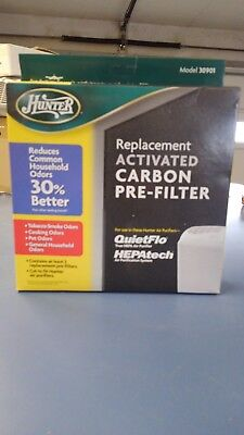 Hunter Activated replacemented air filter 30901 Carbon QuiteFlo , HEPAtech Sys.