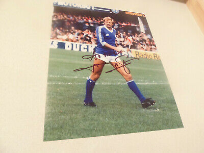 10X 8   hand signed FRANK WORTHINGTON - LEICESTER   - AFTAL   - undedicated