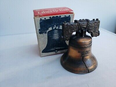 """""""An Authentic Replica of the Liberty Bell"""" Vintage 1975 Historical Souvenir Co"""