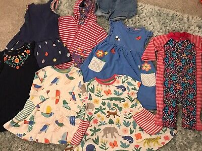 Bundle Of 8 Boden, Joules & Jojo Maman Bebe Girls Clothes Aged 2-3 Years 💕