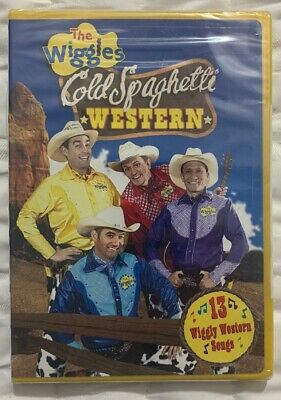 The Wiggles Cold Spaghetti Western DVD 13 Wiggle Songs & More New Sealed FreeSH