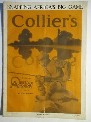 """maxfield parrish colliers magazine """"the lone fisherman"""" april 17,1909 complete"""