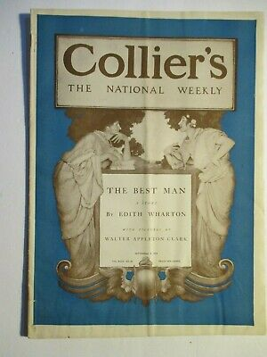 maxfield parrish colliers magazine sep 2, 1905 complete with cream of wheat ad