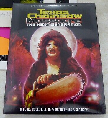 Texas Chainsaw Massacre Next Generation Blu-Ray + Slipcover Scream Factory New!