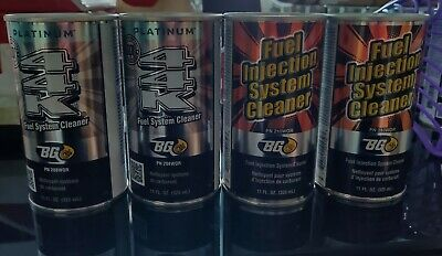 BG Products  (2) cans BG 44K  & (2) cans BG Fuel Injection System Cleaner