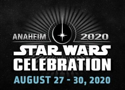 2 Star Wars Celebration Anaheim 2020 Adult Sunday Passes Tickets Sold Out 8/30