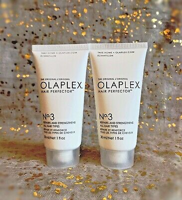 2x~NWOB~Olaplex No.3 Hair Perfector 30ml/ 1fl oz Repairs & Strengthens~Fresh~