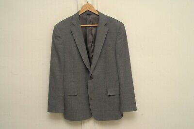 recent Brooks Brothers gray textured two button REGENT sport coat 44R 100% wool
