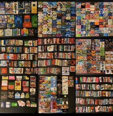 HUGE 1,400+ Gift Card LOT *NO VALUE* Collectible (20+ Stores, Disney, Walmart)