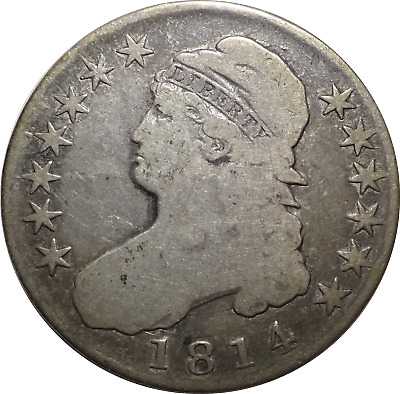 1814 Capped Bust Silver Half Dollar