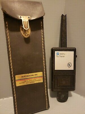 Vtg TIF Instruments 300HV Tic Tracer Voltage Detector Vintage Case Instructions