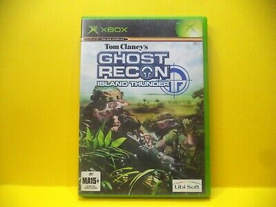 Xbox Tom Clancys Ghost Recon Island Thunder Game