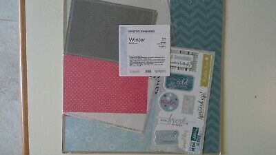 WINTER Additions Paper & Sticker Pack by Creative Memories