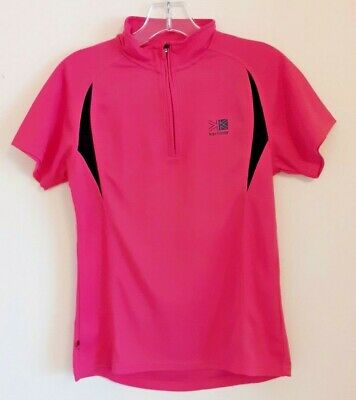Karrimor Pink Running Activewear short sleeved Polo Shirt age 12