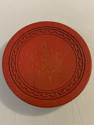 NORTH SHORE CLUB ROULETTE Casino Chips LAKE TAHOE  Nevada 3.99 Shipping