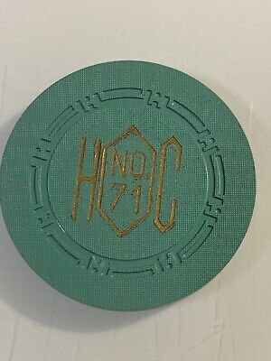 HAROLDS CLUB ROULETTE Casino Chip Reno Nevada 3.99 Shipping