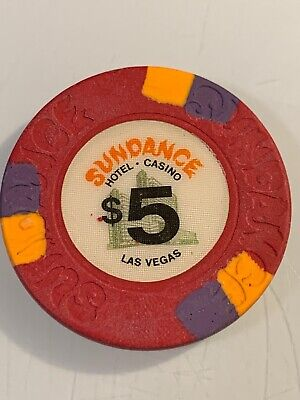 SUNDANCE $5 Casino Chip Las Vegas Nevada 3.99 Shipping