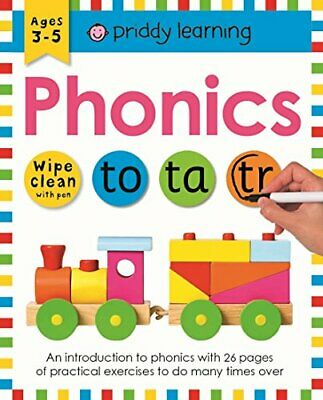 Phonics (Wipe Clean Workbooks) New Paperback Book