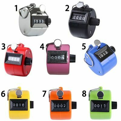 8 Colors Cute Manual Number Counter Click Stroke Hand Tally Counter