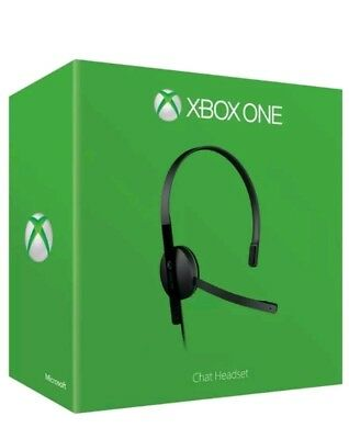 BRAND NEW Official Xbox One Chat Headset. Boxed! & ONLY  £10.99! Boxed & Working
