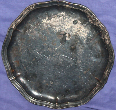 Antique German WMF silver plated serving tray platter