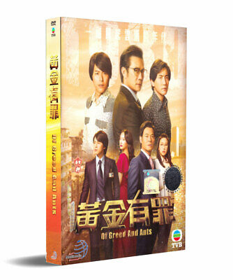 Chinese TVB Drama DVD Of Greed and Ants (黃金有罪) (Ep 1-30 end) (English Sub)