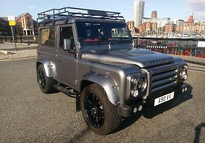 5.0 land Rover defender 90 tvr v8 auto automatic 320bhp 2018 build
